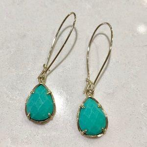 Kendra Scott Turquoise Dee Earrings